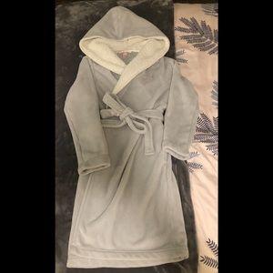 Hooded Fuzzy Robe